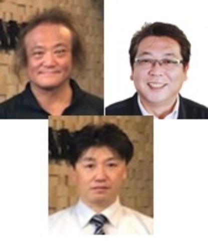 ガイズカンパニー株式会社 (左上)仲本様 (中下)川島様 (右上)松澤様